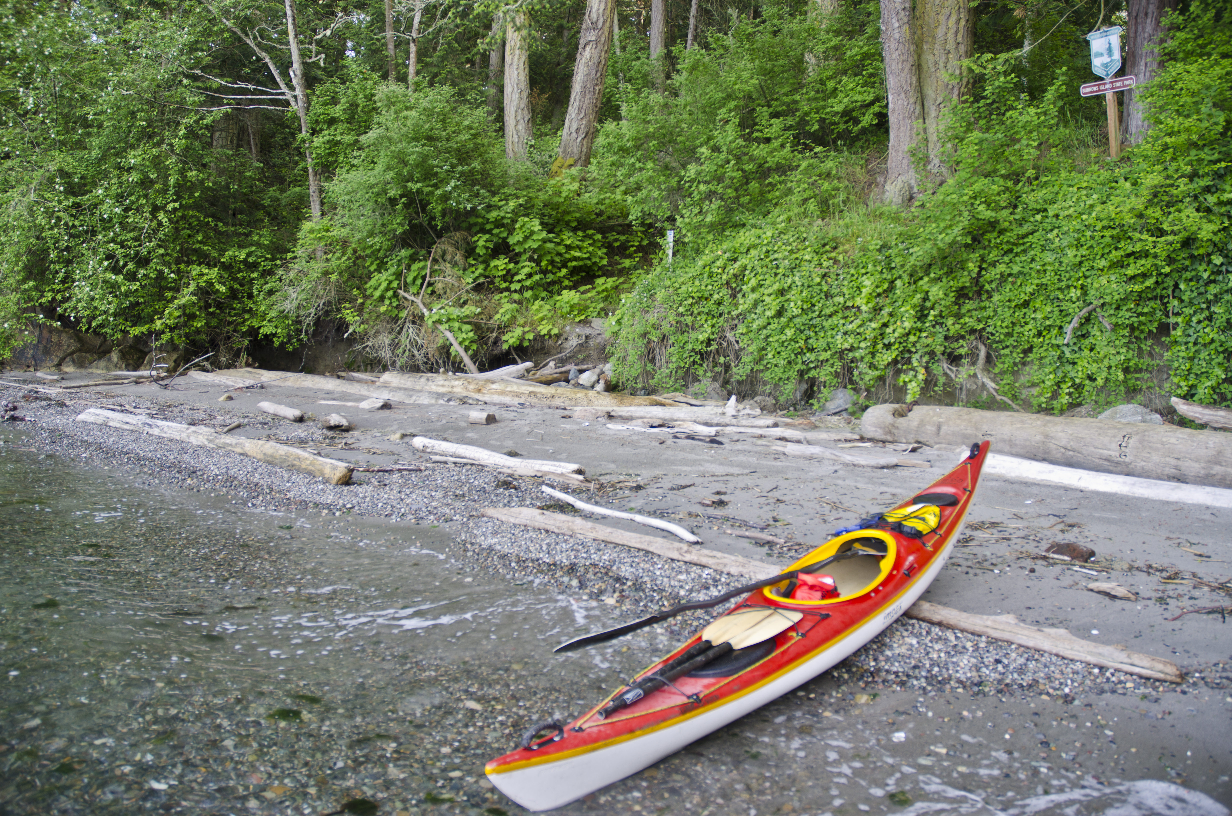 Landing Kayak Burrows