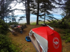 Camping at Fort Ebey