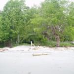 Boat ramp marks eastern park boundary
