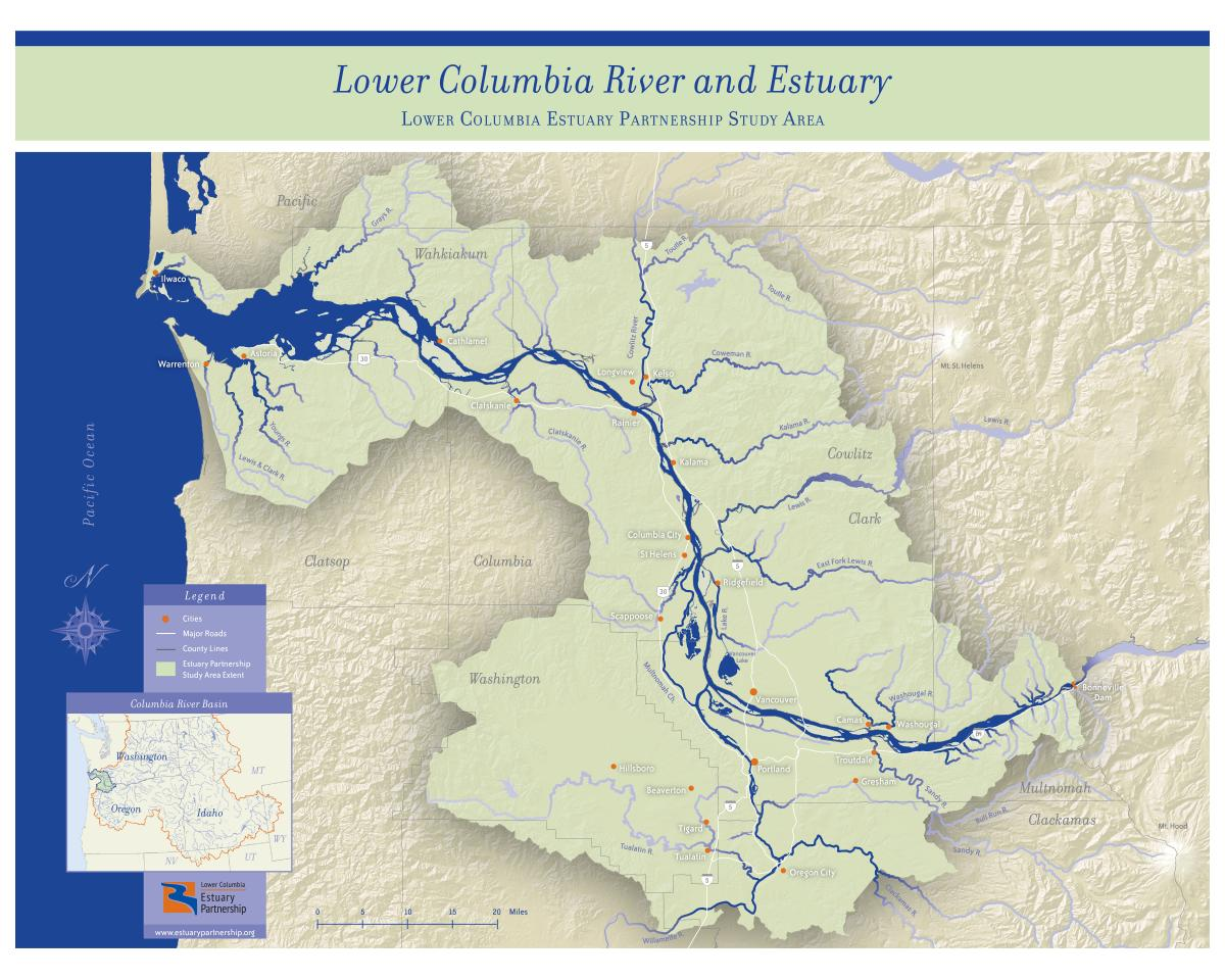 Lower Columbia River Water Trail | Washington Water Trails Association