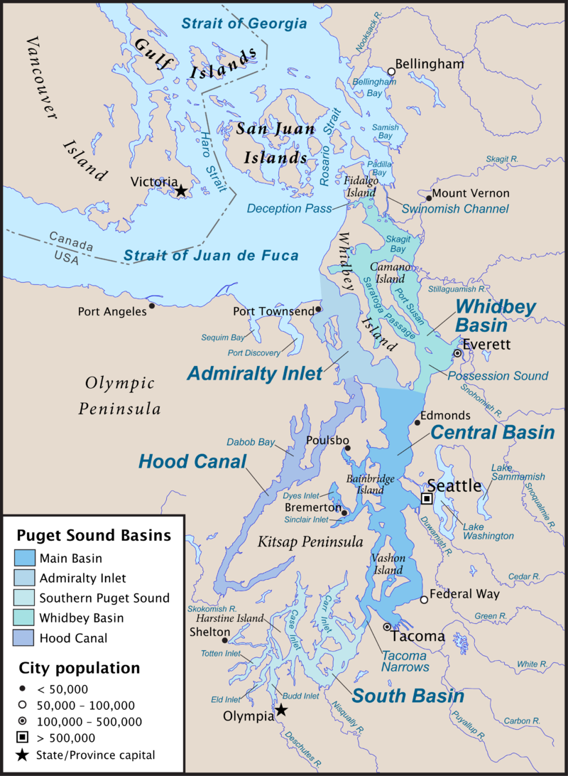 Cascadia Marine Trail | Washington Water Trails ociation on
