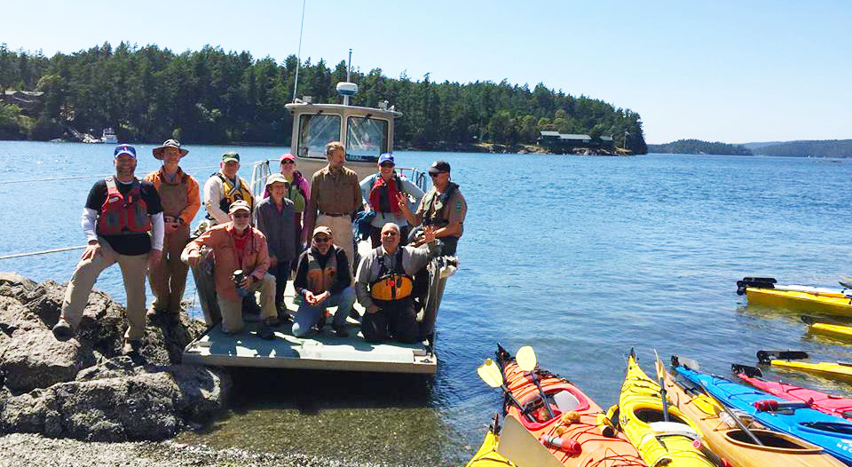 Blind Island Work Party